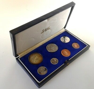 South Africa Proof Coin Set 1967 as Issued by the S A Mint in Original Box #CIM