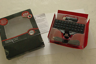 GameOn Compatible Wireless Key Pad Keyboard for PS3 Boxed Wireless