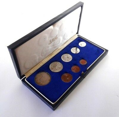 South Africa Proof Coin Set 1970 as Issued by the S A Mint in Original Box #CIM