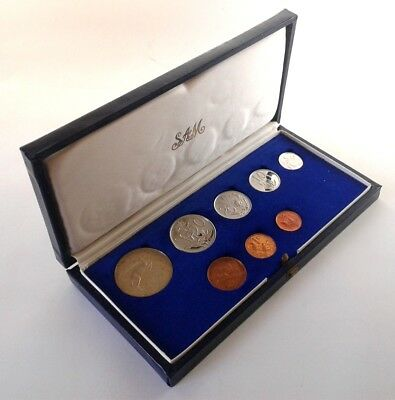 South Africa Proof Coin Set 1971 as Issued by the S A Mint in Original Box #CIM