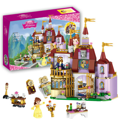 Princess Belle Enchanted Castle - Beauty and the Beast 379 Pcs - LEGO Compatible