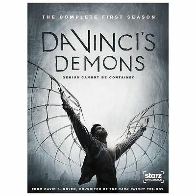 Da Vinci's Demons Season 1 [2013, 3 x DVD Set] Romance/ Thriller, Sealed, New