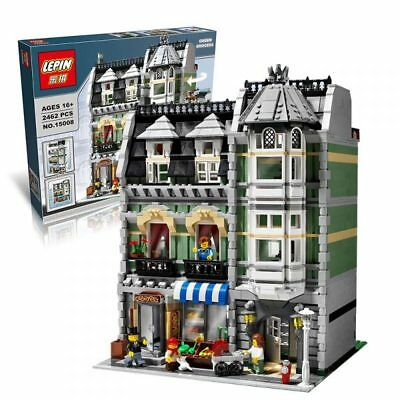 City Street Green Grocer LEGO Compatible 2462pcs 10185 Creator Set