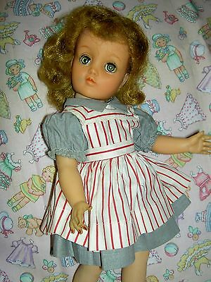 "Lovely IDEAL, c1954 Harriet Hubbard Ayer, 14"" TONI make-up doll ~all original"