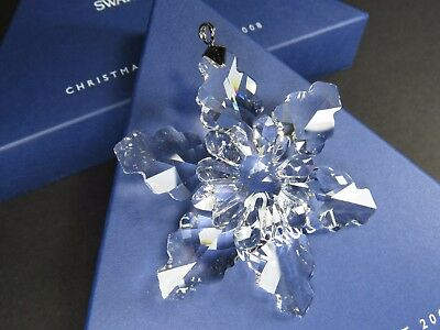 Swarovski Large Annual Edition Christmas Ornament 2008 MIB #942045