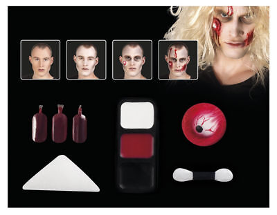 Schminkset Make Up Kit Zombie EYE Styling Schminke Karneval Halloween  45085