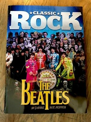 CLASSIC ROCK Beatles Special Sgt Pepper Limited Ed. June 2017 #61 +CD *NEW*