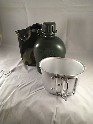 1 Litre Military Water Canteen Insulating Jacket Inc Mess Tin