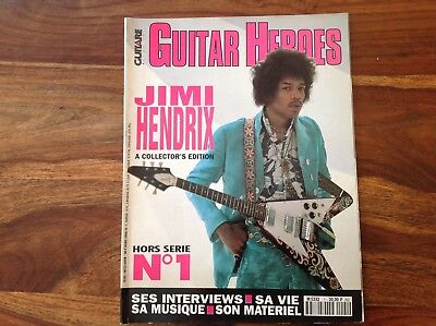 Jimi Hendrix Hors Serie N° 1 Guitare & Claviers Rare & Collector 1992