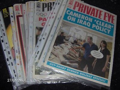 Job Lot of  12 x Private eye magazines vg condition,crazy 99p start
