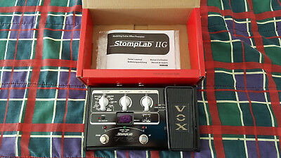 Auction: Vox Stomplab 2G Multi-Fx Processor As New.high Quality, Excellent Sound