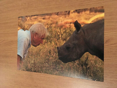 Sir David Attenborough Blue Planet Earth 12X8 Authentic Hand Signed Photo
