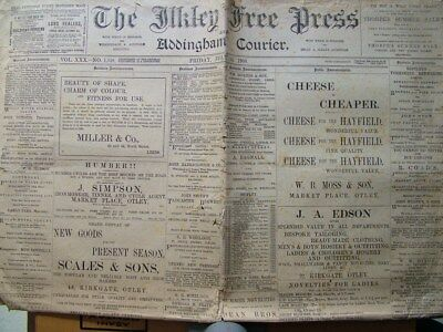 The Ilkley Free Press and Addingham Courier, Friday July 20 1900.