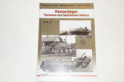 WW2 German Armour Panzerjager Technical Operational History 1 Reference Book