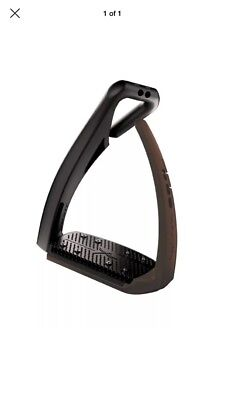 Free Jump Stirrups pre Owned BROWN Adults