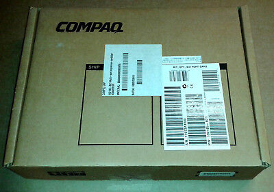 Boxed HP Compaq Six Port Serial Card with all accessories.  192185-B21