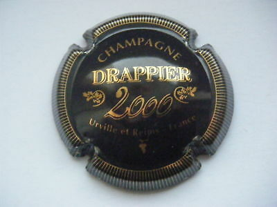 Capsule DRAPPIER - An 2000 - Noir & Or - n° 8 -