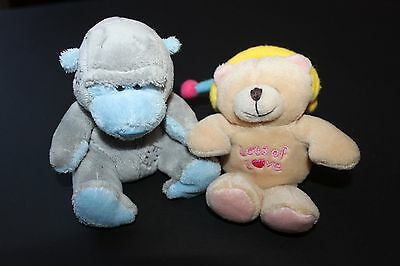 Small Forever Friends Bear and Small Tatty Teddy Monkey Friend