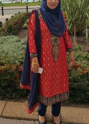 Navy Party Dress - Indian/Pakistani