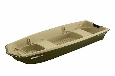 American 12 Jon Boat (Drab  Green Beige) Escape The Indoors ™