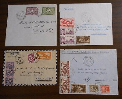 Vietnam 1950-55 official correspondence(Indochina)