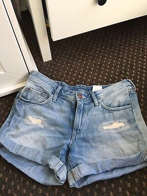 Girls H&M Denim Shorts Age 12-13