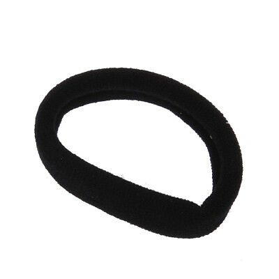 Beautiful 30  Black Stretch Rubber Hair Band Ponytail Holder Bands for Wome C5Q1