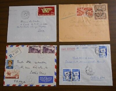 Vietnam 1950-55 official correspondence (Indochina) special covers
