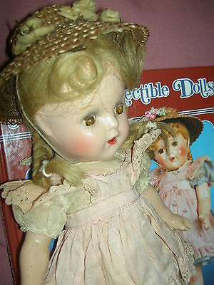 "Sweet 13"" Alexander compo. 1937, ""McGuffey Ana"" doll w/TWO tagged outfits & hats"