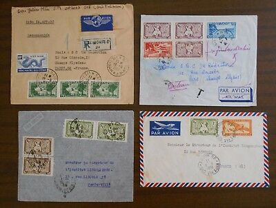Vietnam 1950-55 special official covers,correspondence from Indochina