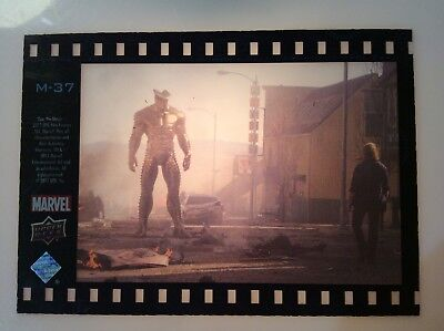 2011 Marvel Upper Deck THOR Movie Film Cell Acetate Card M-37
