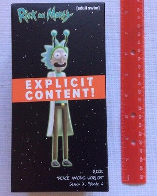 Loot Crate Rick and Morty Rick Figure Peace Among Worlds Adult Swim July 2017