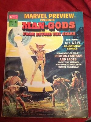 Marvel Preview Presents Man-Gods 1975 No.1 Neal Adams 02928