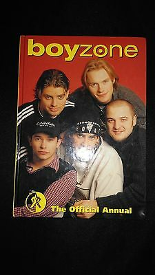 Boyzone Official Annual 1997 Vintage/Retro Pop Music