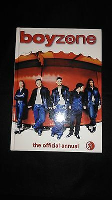 Boyzone Official Annual 1999 Vintage/Retro Pop Music Near Mint