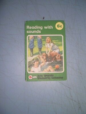 Ladybird Book Key Words 6c Reading With Sounds 1978