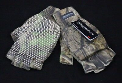 Thinsulate Realtree Camo Fingerless/hooded Fishing/shooting Gloves