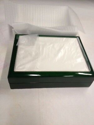 sublimation jewelry box 6x8 green