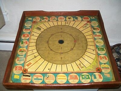 Antique 1906 No. 697 Combination Game Board Mcloughlin Bros. Pre Milton Bradley