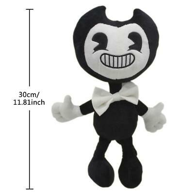 30cm Hot Bendy and the ink machine Game Plush Doll Toys Baby Kids Xmas Gift