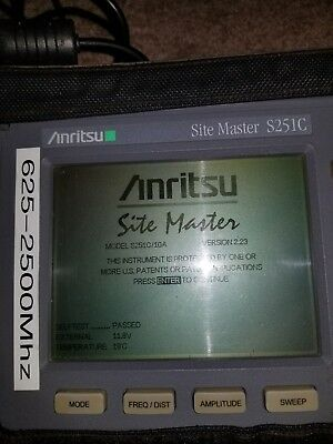 Anritsu Site Master S251C Cable Antenna SiteMaster Option 10A