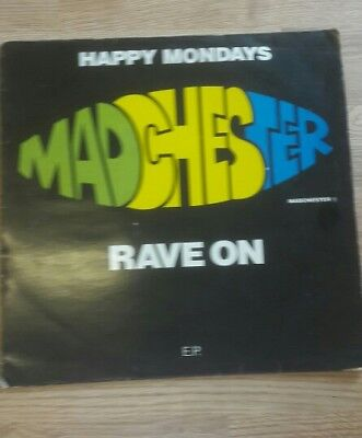 happy mondays, vinyl rave on ep 12""