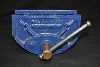 Vintage Record No V175 Woodworking Vise Clamp Vice Made in England