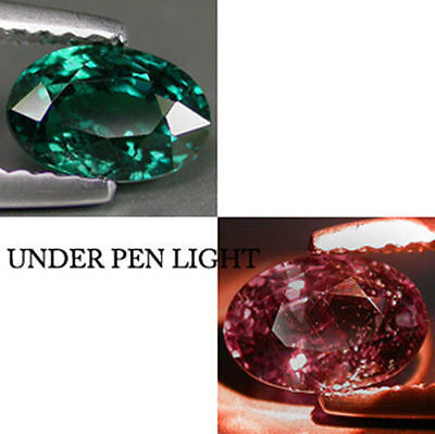 0.41Ct Collector's Gem! Natural Amazing Alexandrite Hue COLOR CHANGE GARNET BY02