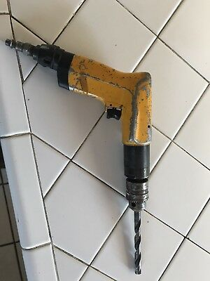 """Atlas Copco Industrial Quality Pneumatic Drill with 1/4"""" Chuck"""
