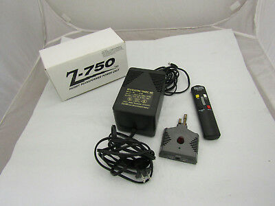 Z-750 Hobby Transformer Power Unit w/ Rail King I/R Remote by MTH Untested