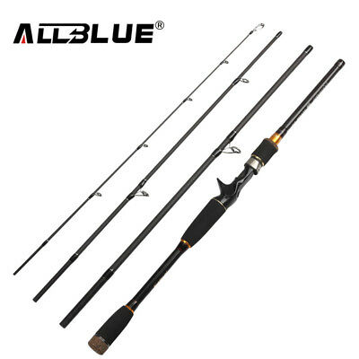 Fishing Spinning Casting Rod ALLBLUE Freshwater Carbon Portable Professional NEW