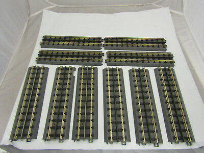 Lot of 10 MTH Electric Train Model Tracks Straight 10""