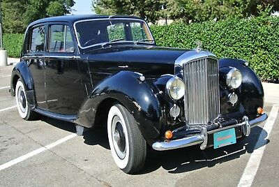1952 Bentley MK VI  MK VI, runs, drives and stops! great project needs cosmetics , LOOK!