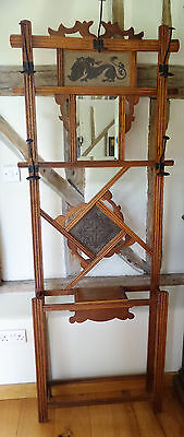 Antique French Arts And Crafts Hall Stand